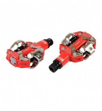PEDALES MTB NEW X-TRACK RED