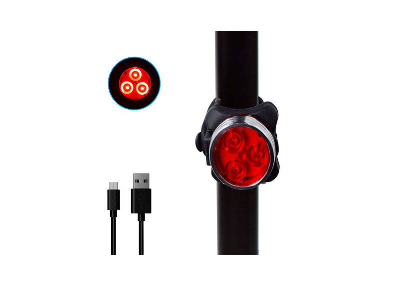LED 3 SMD MAX LUMENS 80LM WHITE/RED